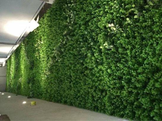 Tường cây cỏ giả